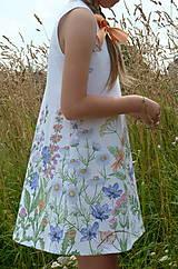 Detské oblečenie - Šatočky Lúčne kvety - 12143832_