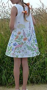 Detské oblečenie - Šatočky Lúčne kvety - 12143835_