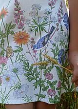 Detské oblečenie - Šatočky Lúčne kvety - 12143843_