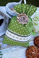 Úžitkový textil - Vrecko-bodka - 12144576_