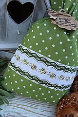 Úžitkový textil - Vrecko-bodka - 12144577_