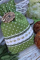 Úžitkový textil - Vrecko-bodka - 12144578_