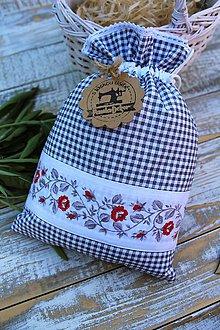 Úžitkový textil - Vidiecke vrecúško - 12144674_