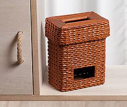 Krabičky - Zásobník na sáčky - Gaštanko - 12144535_
