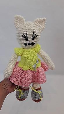 Hračky - Mačka v sukničke - 12144583_