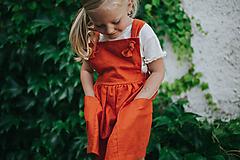 Detské oblečenie - Trakové šaty MILANO - 12145824_