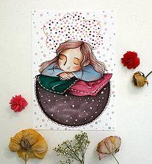 Kresby - Keď myslím na farby - 12147341_