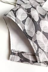 Rúška - Tvarované rúško 100 % bavlna - 12146609_