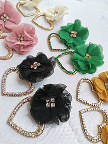 Náušnice - Kvetové náušnice - 12146800_