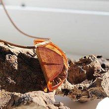 Náhrdelníky - oranžové D - 12145499_