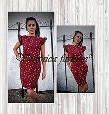 Šaty - Dámske šaty hearts - 12147625_