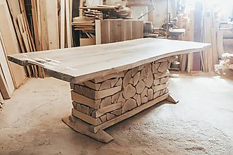 Nábytok - Jedálenský stôl ( Horár). - 12149762_
