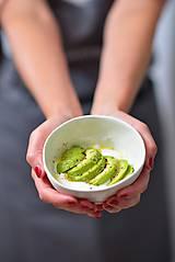 Nádoby - miska do ruky. bledo zelená - 12150863_