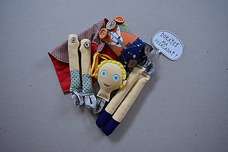 Hračky - Malý princ - Gombíková bábika - 12150205_