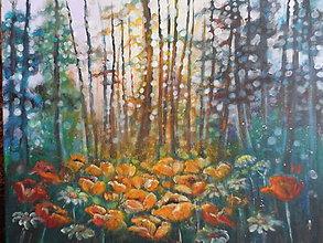 Obrazy - Blízko pri lesíku - 12150017_