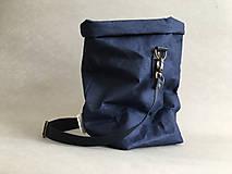 """Veľké tašky - Navy blue """" Taška na všetko"""" - 12150467_"""