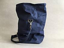 """Veľké tašky - Navy blue """" Taška na všetko"""" - 12150475_"""