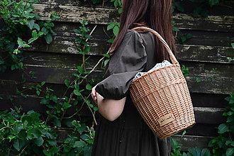 Kabelky - Prútená kabelka VERANO N°5 - 12150573_