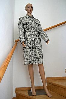 Šaty - Košilové šaty - 12148246_