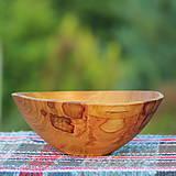 Nádoby - Miska z čerešňového dreva - 12150867_