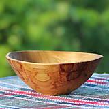 Nádoby - Miska z čerešňového dreva - 12150868_