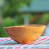 Nádoby - Miska z čerešňového dreva - 12150869_