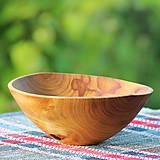Nádoby - Miska z čerešňového dreva - 12150871_