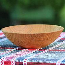 Nádoby - Miska z čerešňového dreva - 12150893_