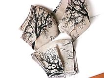 1 vrstvové/ľanové stromy