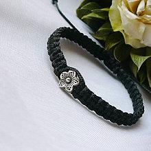 Náramky - Makramé náramok- kvet - 12153732_