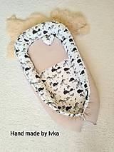 Hniezdo pre bábätko -  smotanove vafle/ hroch a žirafa