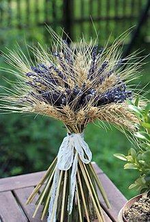 Dekorácie - Levanduľové kytice - 12153409_