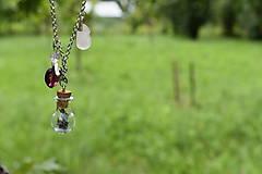 Náhrdelníky - Čarovný levanduľový náhrdelík - 12153729_