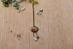 Náhrdelníky - Náhrdelník lesná žienka - 12153738_