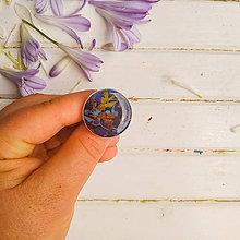 Prstene - En tissu -  prsten průměr 25 mm - 12151783_