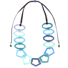 Náhrdelníky - Kubahismo Azul - 12153149_
