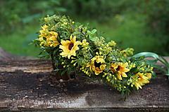 Kvetinový venček - Slnečný deň