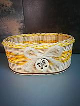 Košíky - Malé košíky (vzor 3) - 12153844_
