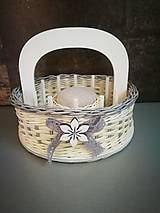Košíky - Košík na šitíčko (vzor 1) - 12154605_