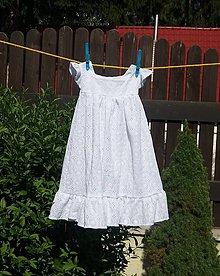 Detské oblečenie - Detské madeirové šaty - 12156899_