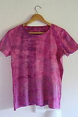 Tričko_T-shirt_batik_purple_M