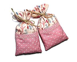 Úžitkový textil - bavlnené vrecúško 19x11cm - 12155930_