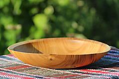 Nádoby - Miska z čerešňového dreva - 12157223_