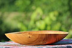 Nádoby - Miska z čerešňového dreva - 12157226_