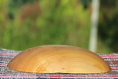 Nádoby - Miska z čerešňového dreva - 12157227_