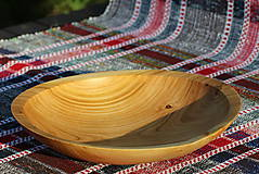 Nádoby - Miska z čerešňového dreva - 12157229_