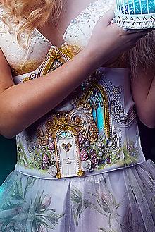 Opasky - maľovaný opasok Najnevesta 2020 - 12160758_