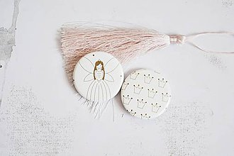 Odznaky/Brošne - Buttonky/odznačiky - víla - 12158043_