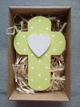 Dekorácie - Krížik v darčekovom balení - 12159373_