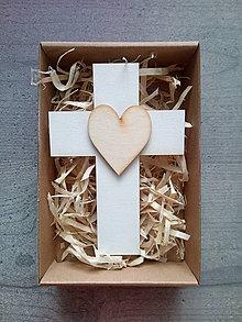 Dekorácie - Krížik v darčekovom balení - 12159162_